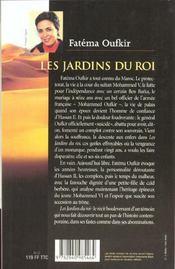 Les Jardins Du Roi - 4ème de couverture - Format classique