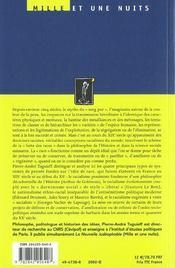 La couleur et le sang ; doctrines racistes à la française - 4ème de couverture - Format classique