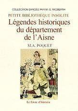 Legendes historiques du departement de l'aisne - Couverture - Format classique