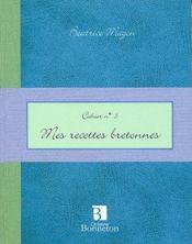 Cah.3 Mes Recettes Bretonnes - Intérieur - Format classique