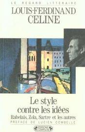 Le style contre les idées - Intérieur - Format classique