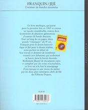 Createur De Bandes Dessinees Franquin-Jije, Createurs De Bandes Dessinees - 4ème de couverture - Format classique