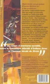 Domaine De L'Ombre 1 - Chateau Sans Nom (Le) - 4ème de couverture - Format classique