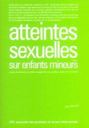 Atteintes Sexuelles Tome 1 - Intérieur - Format classique