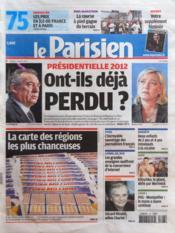 Parisien 75 (Le) N°20986 du 03/03/2012 - Couverture - Format classique