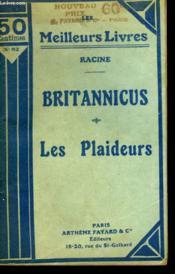 Britannicus Suivi De Les Plaideurs. Collection : Les Meilleurs Livres N° 82. - Couverture - Format classique