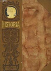 Historia - Tome Premier - Couverture - Format classique