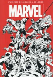 Vente livre :  Grand coloriage ; Marvel  - Nicolas Beaujouan