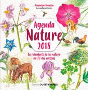 Vente livre :  Agenda nature (édition 2018)  - Dominique Mansion