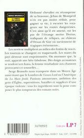Le château des poisons - 4ème de couverture - Format classique