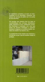 Poser les cloisons en carreaux de plâtre - 4ème de couverture - Format classique
