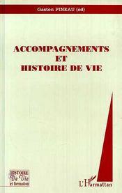 Accompagnements et histoire de vie - Couverture - Format classique