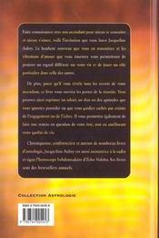 Les Signes Du Zodiaques Et Leurs Ascendants - 4ème de couverture - Format classique