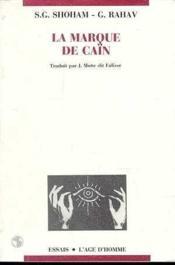 La Marque De Cain - Couverture - Format classique