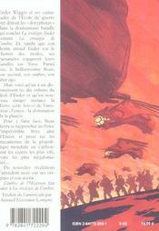 L'ombre de l'hegemon - 4ème de couverture - Format classique