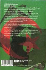 Double Blanc - 4ème de couverture - Format classique