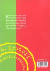 Les Colocs A La Cuisine - 4ème de couverture - Format classique