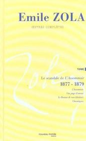 Emile zola oeuvres completes t8 le scandale de l assommoir (1877 1879) - Intérieur - Format classique
