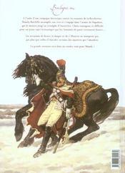 Shandy, un anglais dans l'empire t.2 ; le soleil d'Austerlitz - 4ème de couverture - Format classique