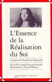 Essence De La Realisation Du Soi - Couverture - Format classique