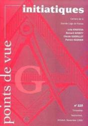 Revue Points De Vue Initiatiques N.115 - Couverture - Format classique