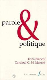 Parole Et Politique - Couverture - Format classique