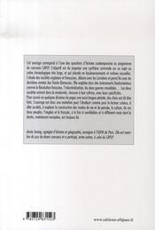 Les sociétés française et anglaise du millieu du XVIII siècle aux années 1970 - 4ème de couverture - Format classique