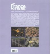 Une France vue du ciel - 4ème de couverture - Format classique