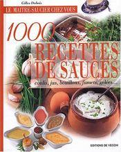 Maitre Saucier Chez Vous 1000 Recettes (Le) - Intérieur - Format classique