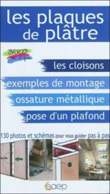 Les plaques de plâtre - Couverture - Format classique