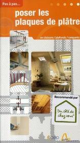 Les plaques de plâtre - Intérieur - Format classique