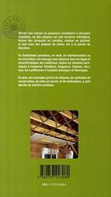 Les plaques de plâtre - 4ème de couverture - Format classique