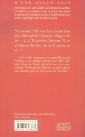 Kaïna-Marseille - 4ème de couverture - Format classique