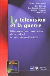La télévision et la guerre - Intérieur - Format classique