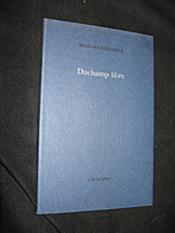 Duchamp libre - Couverture - Format classique