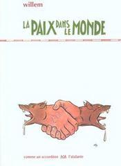 La Paix Dans Le Monde - Intérieur - Format classique
