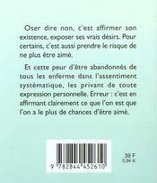 81 Facons D'Apprendre A Dire Non ! - 4ème de couverture - Format classique