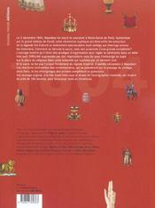 Le Sacre De Napoleon - 4ème de couverture - Format classique