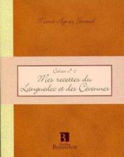 Cah.5 mes recettes languedoc cevennes - Couverture - Format classique