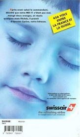 Suisse (édition 1998-1999) - 4ème de couverture - Format classique