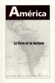 America N.23 ; Le Livre Et La Lecture - Couverture - Format classique