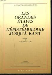 Grandes etapes de l'epistemologie - Couverture - Format classique