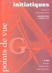Points De Vue Initiatiques N.116 ; Rudyard Kipling, Le Sens De La Vie - Couverture - Format classique