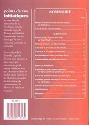 Points De Vue Initiatiques N.116 ; Rudyard Kipling, Le Sens De La Vie - 4ème de couverture - Format classique