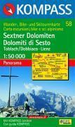 Sextner Dolomiten/dolomiti di sexto - Couverture - Format classique