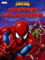 Spider-man ; livre de coloriage avec poster et autocollant - Couverture - Format classique
