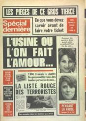 Special Derniere N°377 du 21/05/1976 - Couverture - Format classique