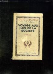 Voyage Aux Iles De La Societe. - Couverture - Format classique