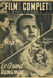 2 Films Complets N°7 - Sole Mio Et Grand Mensonge - Couverture - Format classique