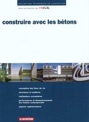 Construire Avec Les Betons - Intérieur - Format classique